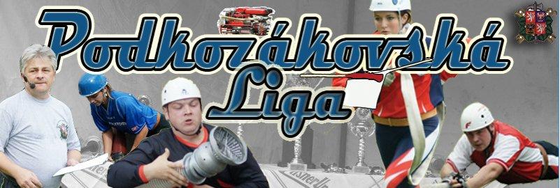 Logo Podkozákovská hasičská liga