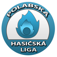 Logo Polabská hasičská liga