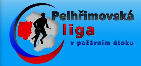 Logo Pelhřimovská liga v požárním útoku